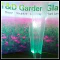 glass outdoor garden light