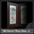 glass door for religious