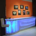 night club bar counter design