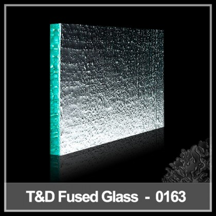 2014  fused glass tiles for wall