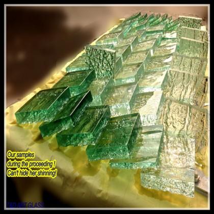 2014 glass samples
