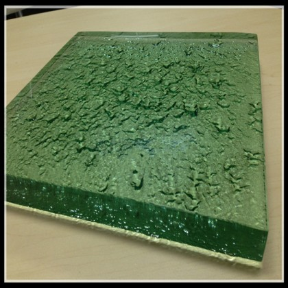 solid green countertops