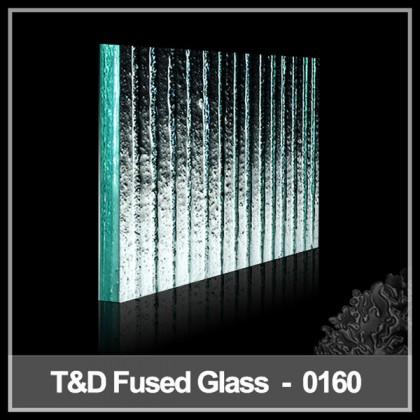 2014 fashion design fused glass tiles